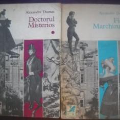 HOPCT  DOCTORUL MISTERIOS /FIICA MARCHIZULUI-AL DUMAS-2 VOLUME  1976/761 PAGINI