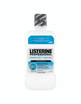Apa de gura Listerine Sensitivity Therapy, 500 ml foto