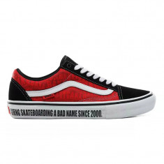 Shoes Vans Old Skool Pro Baker Black/White/Red