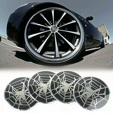 Set 4 buc. ornament metalic capac janta aliaj (55mm) - SPIDER foto