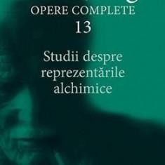 Opere complete 13: Studii despre reprezentarile alchimice - C.G. Jung