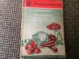 Vitaminele si importanta lor pentru sanatate v. efremov ed. cartea rusa 1954 RPR, Alta editura