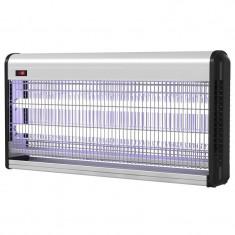 Insectocutor cu UV pentru distrugera insectelor InsectoKILL M40, 2 x 20 W, 150 mp