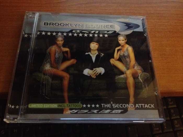 Brooklyn Bounce - Second Attack [Limited Edition incl. Tattoos] (1997) [CD]