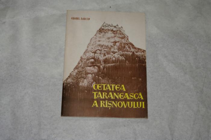 Cetatea taraneasca a Risnovului - Emil Micu - 1970