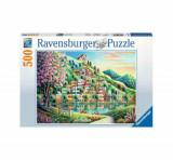 Cumpara ieftin Puzzle Ravensburger Parcul Blossom, 500 piese