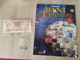 BANI PE MAPAMOND NR. 1(INCLUDE MONEDA+BANCNOTA)