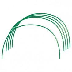 RUSIA Arcuri pentru sera, PVC 0,75 x 0,9 m, 6 buc., diametru teava 10 mm, RUSIA 64407