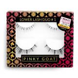 Gene False Pinky Goat Lower Lash #1 2 pack
