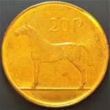 Moneda 20 PENCE - IRLANDA, anul 1996 *cod 4245 - UNC, Europa
