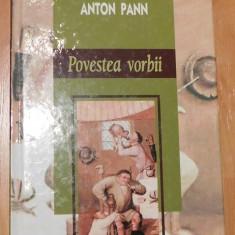 Povestea vorbii de Anton Pann