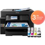 Multifunctionala Epson EcoTank L15160, Inkjet, Color, format A3, duplex, fax, retea, wireless