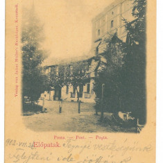 4644 - VALCELE, Covasna, Posta, Litho, Romania - old postcard - used - 1902