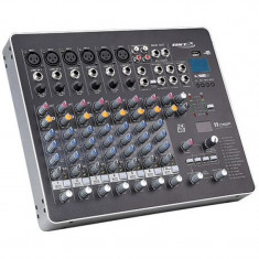 Mixer BST Phantom cu 8 canale, player USB, cititor MP3, USB incorporat