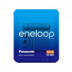 Acumulatori Panasonic Eneloop AA R6 1900mAh 1,2V Ni-MH BK-3MCCE/4LE (HR6) blister 4 buc