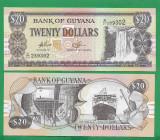 = GUYANA - 20 DOLLARS - 2009 - UNC =