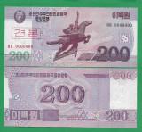 = COREA DE NORD - 200 WON - 2008 - SPECIMEN - UNC   =