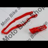 MBS Kit patina + ghidaj lant Honda CRF450 2013, rosu, Cod Produs: HO04665070