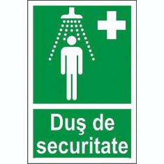 Indicator Dus de securitate - Semn Protectia Muncii
