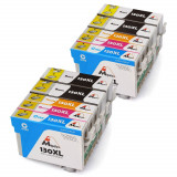 Cartuse imprimanta Epson T1301 T1302 T1303 T1304 (T1306) set 10, Mipelo