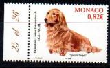 MONACO 2005, Fauna - Caini, serie completa neuzata, MNH, Nestampilat