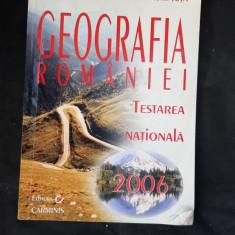 GEOGRAFIA ROMANIEI TESTARE NATIONALA -ROSU . TUTA