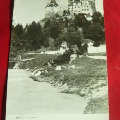 Ilustrata Castelul Bran circulat 1960