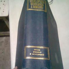 ENCICLOPEDIA GEOGRAFICA A ROMANIEI - DAN GHINEA