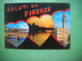 HOPCT 58996 FIRENZE/FLORENTA ITALIA -STAMPILOGRAFIE-NECIRCULATA