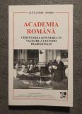Alexandru Dobre - Academia Română: cercetarea și punerea în valoare...