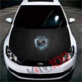"""Sticker Imprimat Color pentru Capota """"Hood Art"""" cod: KM-HOOD-117"""