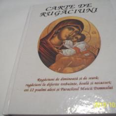 carte de rugaciuni-