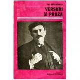 Versuri si proza, Ion Minulescu