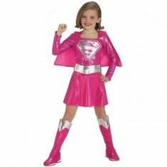 Costum Pink Supergirl, marime S