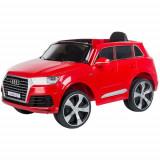 Masinuta Electrica SUV Audi Q7 cu roti EVA, Colectia 2020 Red