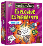 Horrible Science: Kit experimente explozive, Galt