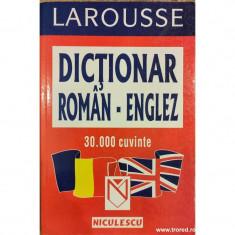 Dictionar roman englez 30.000 cuvinte