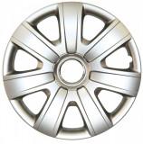 Set capace roti Vw Polo, pe 15 inch, culoare Silver, 15-325