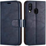 Cumpara ieftin Husa Agenda Magnet Case with kickstand Albastru SAMSUNG Galaxy A20e, Star