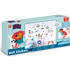 Kit Decor 41 Stickere Pirati, Walltastic