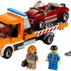 LEGO SET 60017-1 - Flatbed Truck Ages 5+ 212 Piese Complet