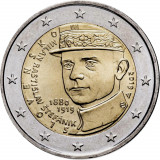 Slovacia moneda comemorativa 2 euro 2019 - Generalul Stefanik - UNC, Europa