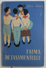 FAIMA DETASAMENTULUI de GICA IUTES , ILUSTRATII de TIA PELTZ , 1963 foto