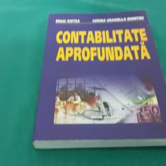 CONTABILITATE APROFUNDATĂ/ MIHAI RISTEA, CORINA GRAZIELLA DUMITRU/ 2005