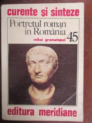 Portretul roman in Romania foto