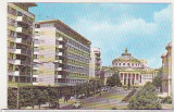 bnk cp Bucuresti - Vedere spre Ateneul RPR - uzata