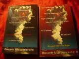 Miruna Munteanu si V.Alexe - Dosare Ultrasecrete -vol.1 si 2 Ed.2000 Ed. Omega