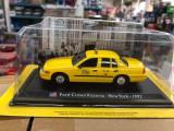 Macheta Ford Crown Victoria - New York - 1992 - Taxiuri scara 1:43