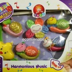 Carusel Muzical pentru Patutul Bebelusului Sweet Cuddles E023