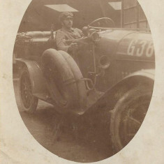 Automobil militar german fotografie Primul Razboi Mondial